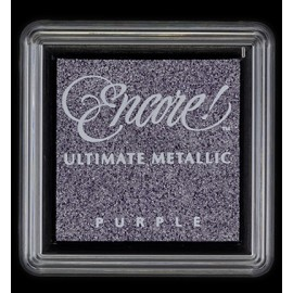 Encore! Ultimate Metallic - Small Ink Pad - Purple, 33x33mm