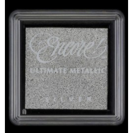 Encore! Ultimate Metallic - Small Ink Pad - Silver, 33x33mm