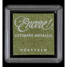 Encore! Ultimate Metallic - Small Ink Pad - Honeydew, 33x33mm