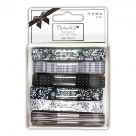 Capsule Collection Ribbon - Bexley Black, 1 m / 6 pcs.