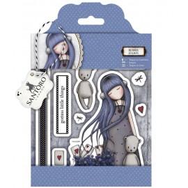 SANTORO® Rubber Stamps - Dear Alice, 12 pcs.