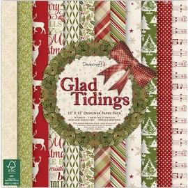 Designer Paper Pack - Glad Tidings, 30x30 cm, 36 sh