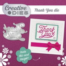 Papercraft Essentials #128 + dies Thank You