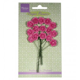 Rose bunches - Bright Pink / 15pcs.