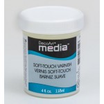 DecoArt Mixed Media - Soft Touch Varnish, 118 ml