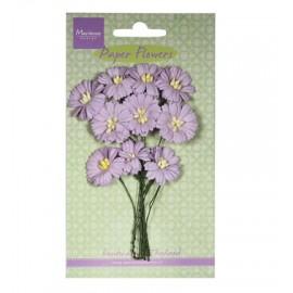 Paper Flowers Daisies - Light Lavender / 10pcs.