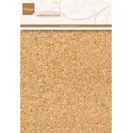 Adhesive Cork, A5 / 5sheets (14,8x21 cm)