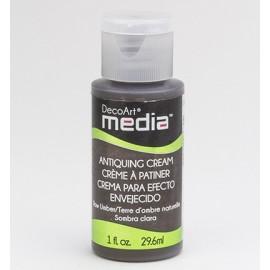 DecoArt Mixed Media - Antiquing Cream - Raw Umber, 29,6 ml