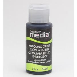 DecoArt Mixed Media - Antiquing Cream - Carbon Black, 29,6 ml