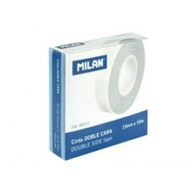 Double-sided adhesive tape MILAN, 10 mtr x 15 mm