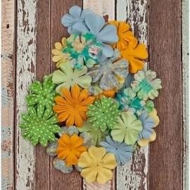 Prima Paper Flowers - Free Spirit, 36 pcs.