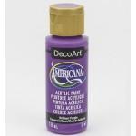 DecoArt Americana Acrylic Paint - Brilliant Purple, 59ml