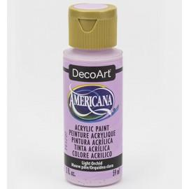 DecoArt Americana Acrylic Paint - Light Orchid, 59ml