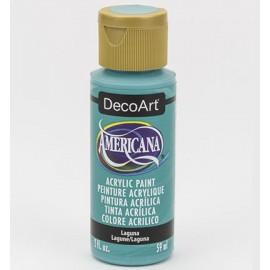 DecoArt Americana Acrylic Paint - Laguna, 59ml
