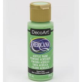 DecoArt Americana Acrylic Paint - Green Tree, 59ml