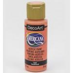 DecoArt Americana Acrylic Paint - Coral, 59ml