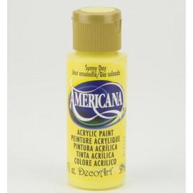 DecoArt Americana Acrylic Paint - Sunny Day, 59ml
