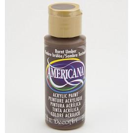 DecoArt Americana Acrylic Paint - Burnt Umber, 59ml