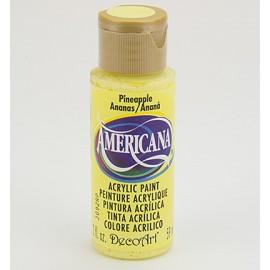 DecoArt Americana Acrylic Paint - Pineapple, 59ml