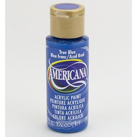 DecoArt Americana Acrylic Paint - True Blue, 59ml