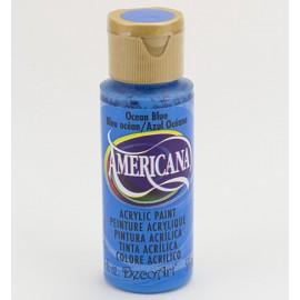 DecoArt Americana Acrylic Paint - Ocean Blue, 59ml