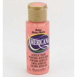 DecoArt Americana Acrylic Paint - Melon, 59ml