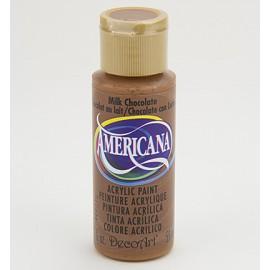 DecoArt Americana Acrylic Paint - Milk Chocolate, 59ml