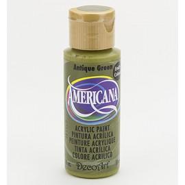 DecoArt Americana Acrylic Paint - Antique Green, 59ml