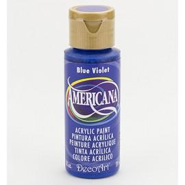 DecoArt Americana Acrylic Paint - Blue Violet, 59ml