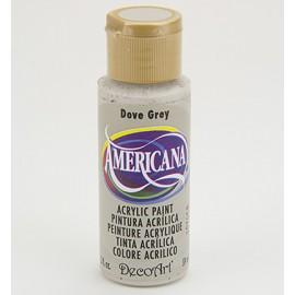 DecoArt Americana Acrylic Paint - Dove Grey, 59ml