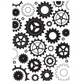 Embossing Folder - Cogwheels