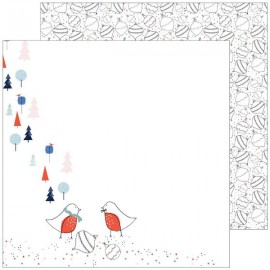 Pinkfresh Studio - December Days Collection - Ornaments, 30x30 cm