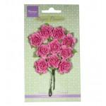 Carnations - Bright Pink , 10 pcs./ 20 mm