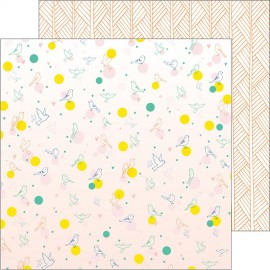 Pinkfresh Studio - Dream On Collection - Delight, 30x30 cm