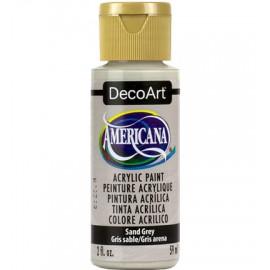 DecoArt Americana Acrylic Paint - Sand Grey, 59ml