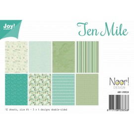 Joy! Crafts Papier Set - Design Ten Mile, A4