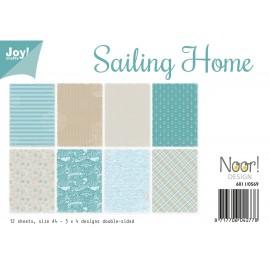 Joy! Crafts Papier Set - Sailing Home, A4