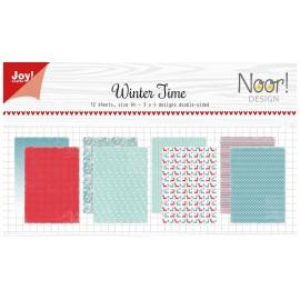 Joy! Crafts Papier Set - Winter Time, A4