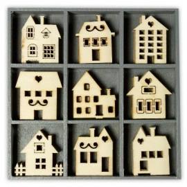 Wood Ornament Box