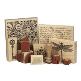 Woodblock stamps
