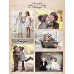 Cutting sheet Nellie's Vintage Wedding-2, A4