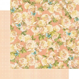Dec. paper 2-sided G45 Peek-A-Boo 30,5X30,5 cm