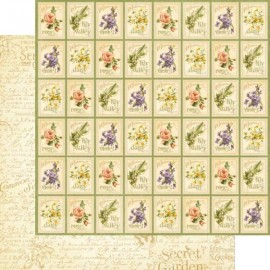 Dec. paper 2-sided G45 Seed Fairy 30,5X30,5 cm