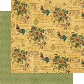 Dec. paper 2-sided G45 Promenade 30,5X30,5 cm
