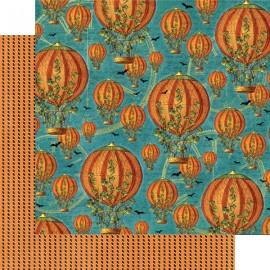 Dec. paper 2-sided G45 Pumpkin Power 30,5X30,5 cm