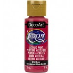 DecoArt Americana Acrylic Paint - Wild Berry, 59ml